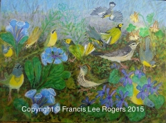 Skulking Warblers By Francis Lee Rogers