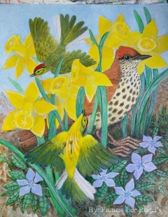 Wood Thrush by Francis Lee Rogers