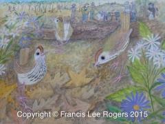 Worm eating Warblers By Francis Lee Rogers