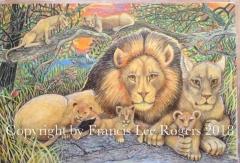 The late Cecil family portrait