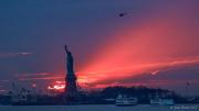 Sunset by Lady Liberty