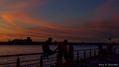Sunset by the Hudson 7/1/19 1
