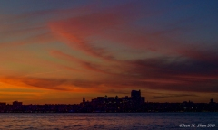 Sunset by the Hudson 7/1/19 2
