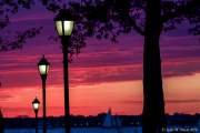 Sunset by Battery Park