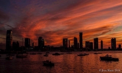 Sunset by Tribeca