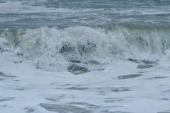 Ocean wave at Carbon beach, Ca.